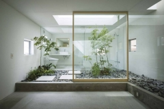 interior casa feng shui cuarto de baño